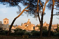 France, Vaucluse, Lourmarin, labelled Les Plus Beaux Villages de France The Most Beautiful Villages of France