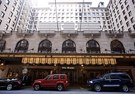 United States, Illinois, Chicago, Magnificent Mile District, The Drake Hotel on Michigan Avenue