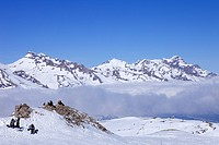 France, Hautes Alpes, Southern Alps, ski resort of Super Devoluy