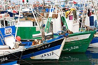 Morocco, Tangier Tetouan Region, Tangier, fishing harbour