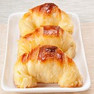 Close_up of croissants