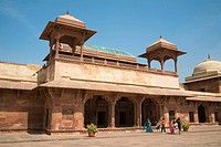 Jodha Bai Palace, Fatehpur Sikri, near Agra, Uttar Pradesh, India