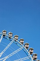 Detail of Ferris wheel at Oktoberfest beer festival, Munich, Germany