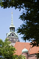 Tower of St.Peter church, Munich, Bavaria, Germany