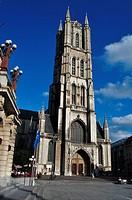 Belgium, Flanders, Ghent, Saint Bavo Cathedral