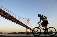 25 de Abril Bridge, Lisbon, Portugal