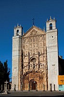 Church of San Pablo, Valladolid, Castilla-Leon, Spain