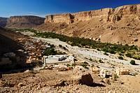 village of Khaylla, Khaylah, Wadi Doan, Hadramaut, Yemen