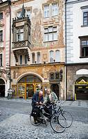 Bikers, Prague, Czech Republic