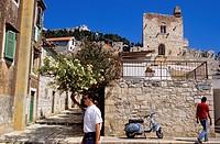 Croatia, Dalmatia, Dalmatian coast, Hvar island, town of Hvar