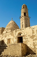 Egypt, Upper Egypt, Libyan Desert, Dakhla Oasis, El Qasr, Ayyubid Mosque