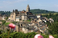 France, Correze, Limousin region, Vezere Valley, Uzerche, labelled Les Plus Beaux Villages de France The Most Beautiful Villages of France