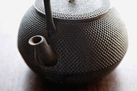 Close_up of a teapot