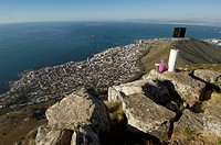 Sea Point seen from Lions Head, Table Mountain National Park, Cape Town, Western Cape Province, South Africa