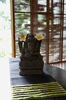 Close_up of Ganesha idol
