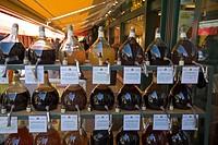 Vienna Naschmarkt vinegar shop