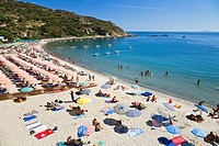 Beach at Cavoli, Elba, Italy