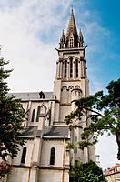 Iglesia de San Martin en Pau, Francia,