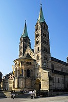 Bamberg Cathedral, Bamberg, Upper Franconia, Germany
