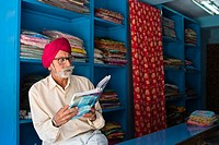 fabric merchant, sikh, Port Blair, Andaman Islands, India