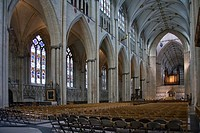 Interior de la catedral de York, Reino Unido