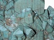 Microcline crystals, Pike´s Peak, Colorado, USA.