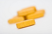 B_Complex vitamin tablets