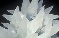 Calcite photographed under normal white light. Brazil, South America. Compare with 503812