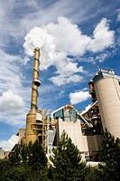 Cement works Slite Gotland Sweden.