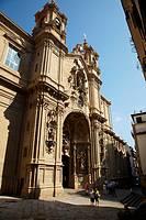 Basilica of Santa Maria, Donostia, San Sebastian, Gipuzkoa, Euskadi, Spain