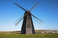 Rottingdean Windmill is a Black Smock Mill built in 1802, situated above the village of Rottingdean nr Brighton West Sussex