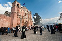 Guatemala, San Felipe, Holy week procession