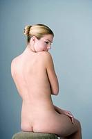 NUDE WOMAN Model.