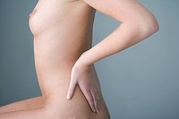 LOWER BACK PAIN IN A WOMAN Model (thumbnail)
