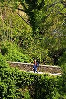 trekking, corniglia, cinque terre, liguria, italia