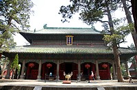 Asia, China, Shandong, The Temple of Mencius