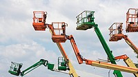 Industrial lifting platforms