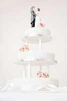 A wedding cake