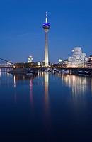 Gehry buildings, Duesseldorf, Germany