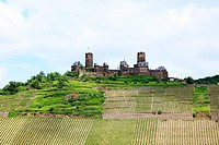 German castle on a hill
