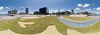 panorama images, Melbourne, Victoria, Victoria Harbour, Australia