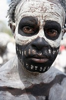 Sing-sing tribal gathering, Mount Hagen, Western Highlands Province, Papua New Guinea