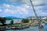 Slovakia, Bratislava Harbor