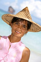 beauty thai woman portrait