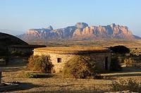 Gheralta Lodge. Hawsien region. Tigray. Ethiopia.