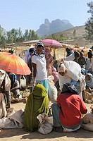Weekly market. Adwa. Tigray. Ethiopia.