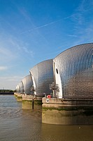 Thames Barrier, Greenwich, London, England, UK