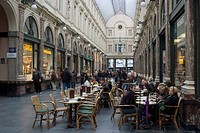 Galeries St_Hubert, Brussels, Belgium, Europe