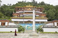 Lingdum Gompa, Gangtok, Sikkim, India, Asia