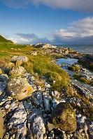 Coastline near Portmuck on Islandmagee, Ulster, Northern Ireland, United Kingdom, Europe
